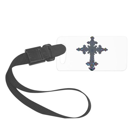 cross24a.png Small Luggage Tag