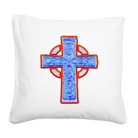 cross29a.png Square Canvas Pillow
