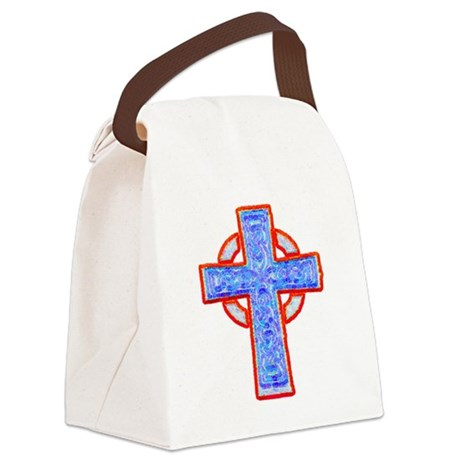 cross29a.png Canvas Lunch Bag