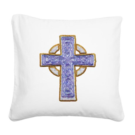 cross29.png Square Canvas Pillow