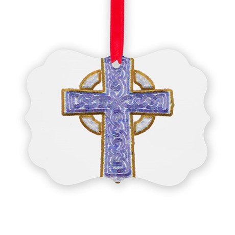 cross29.png Picture Ornament
