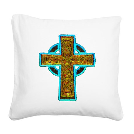 cross29b.png Square Canvas Pillow
