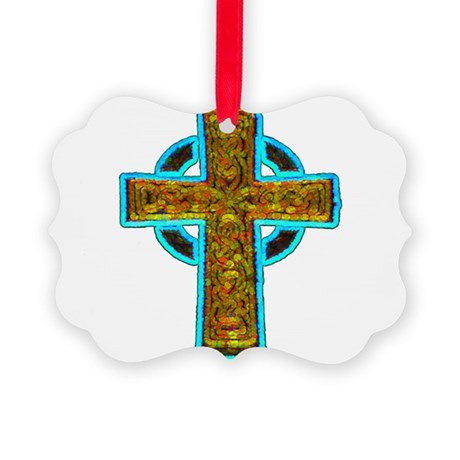 cross29b.png Picture Ornament