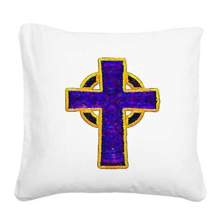 cross29c.png Square Canvas Pillow