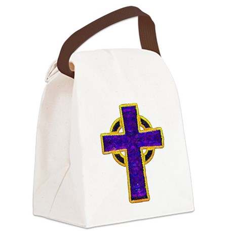 cross29c.png Canvas Lunch Bag
