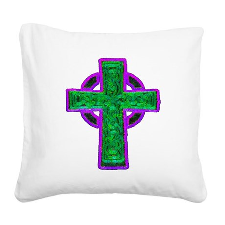 cross29d.png Square Canvas Pillow
