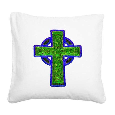 cross29e.png Square Canvas Pillow