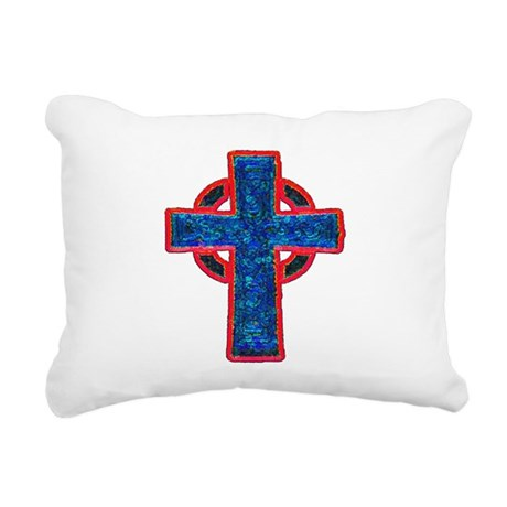 cross29f.png Rectangular Canvas Pillow