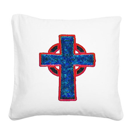cross29f.png Square Canvas Pillow