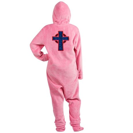 cross29f.png Footed Pajamas