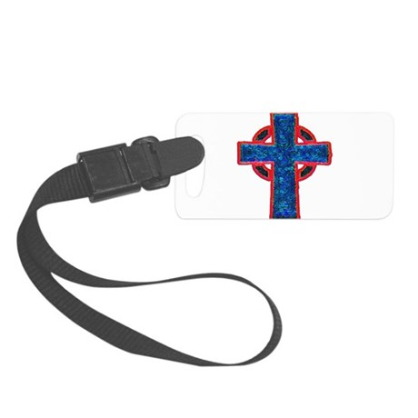 cross29f.png Small Luggage Tag