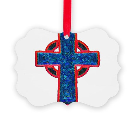cross29f.png Picture Ornament