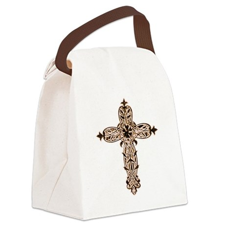 cross30b2.png Canvas Lunch Bag