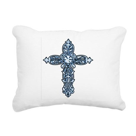 cross30b.png Rectangular Canvas Pillow