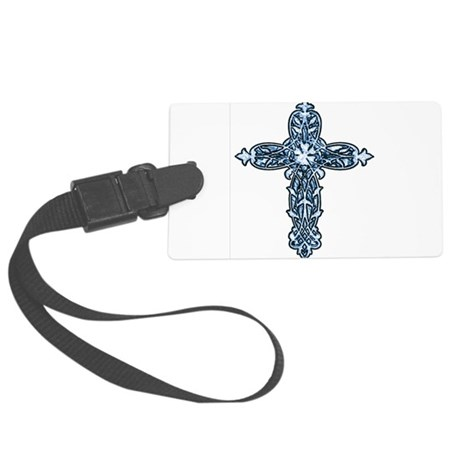 cross30b.png Large Luggage Tag