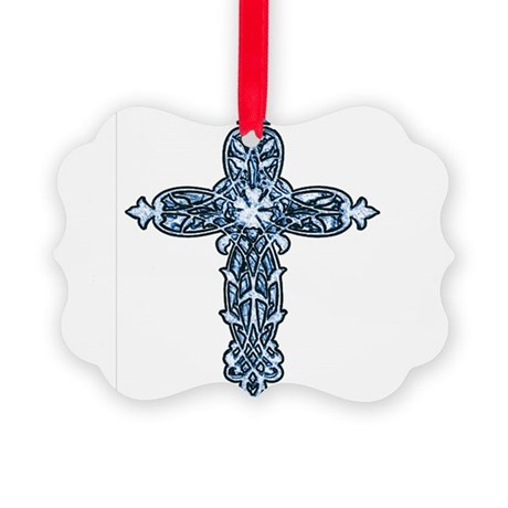 cross30b.png Picture Ornament