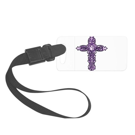 cross30c.png Small Luggage Tag