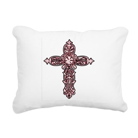 cross30d.png Rectangular Canvas Pillow