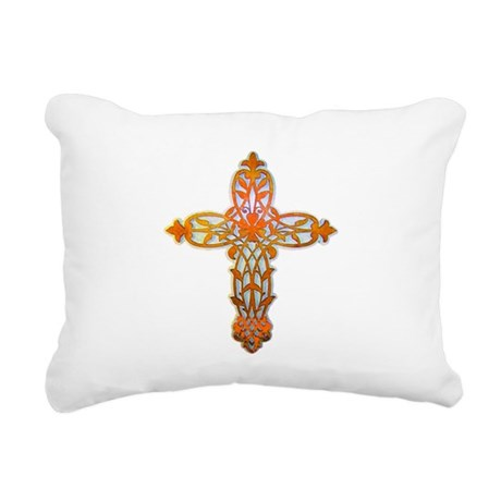 cross31b2.png Rectangular Canvas Pillow