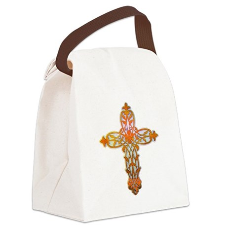 cross31b2.png Canvas Lunch Bag