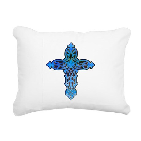 cross31b.png Rectangular Canvas Pillow
