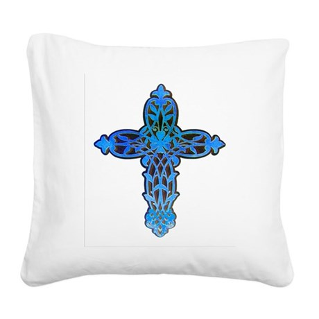 cross31b.png Square Canvas Pillow