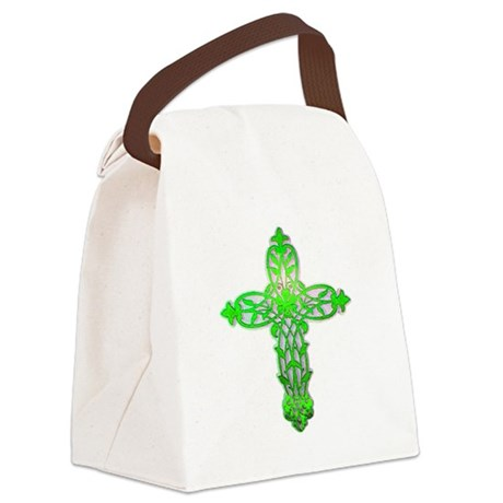 cross31c2.png Canvas Lunch Bag