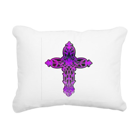 cross31c.png Rectangular Canvas Pillow