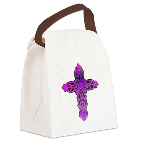cross31c.png Canvas Lunch Bag
