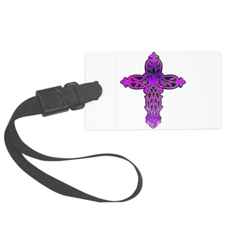 cross31c.png Large Luggage Tag