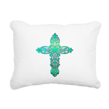 cross31d2.png Rectangular Canvas Pillow