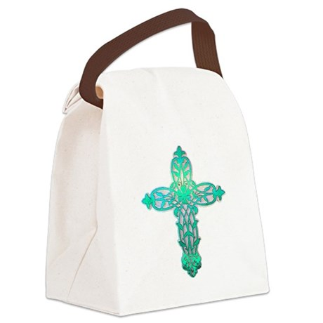 cross31d2.png Canvas Lunch Bag