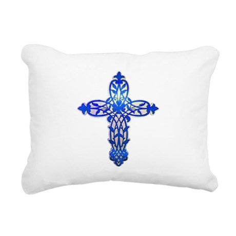 cross31e2.png Rectangular Canvas Pillow