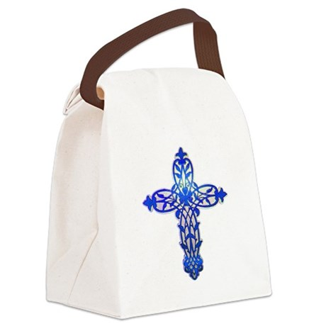 cross31e2.png Canvas Lunch Bag