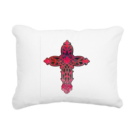 cross31d.png Rectangular Canvas Pillow
