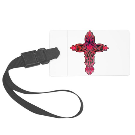 cross31d.png Large Luggage Tag