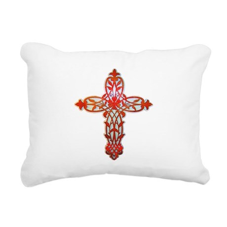 cross31g2.png Rectangular Canvas Pillow