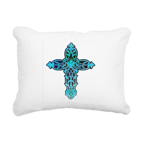 cross31g.png Rectangular Canvas Pillow