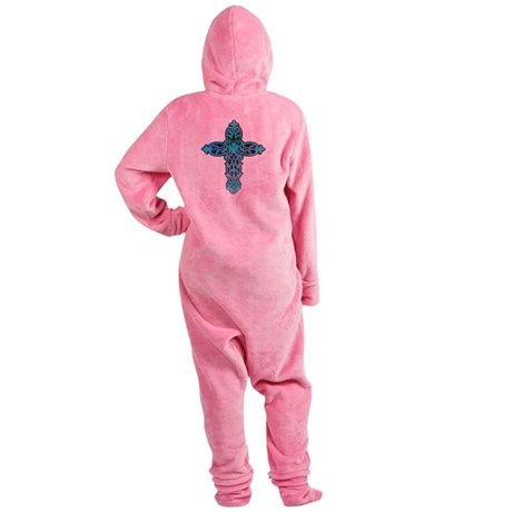 cross31g.png Footed Pajamas