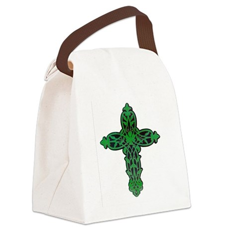 cross31f.png Canvas Lunch Bag