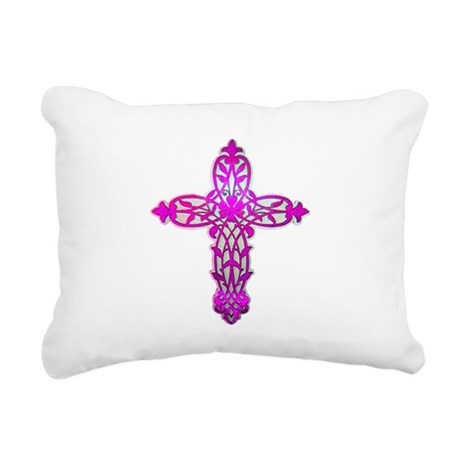 cross32.png Rectangular Canvas Pillow