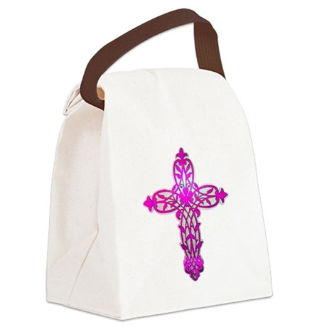 cross32.png Canvas Lunch Bag