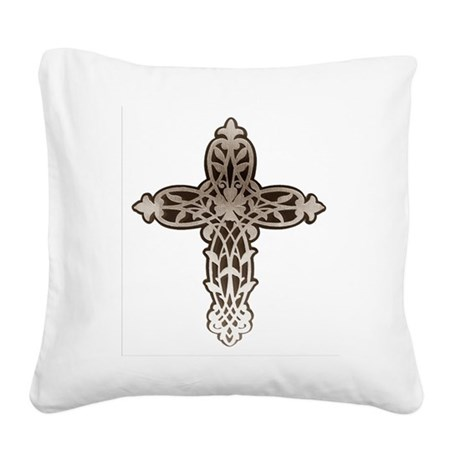 cross31.png Square Canvas Pillow