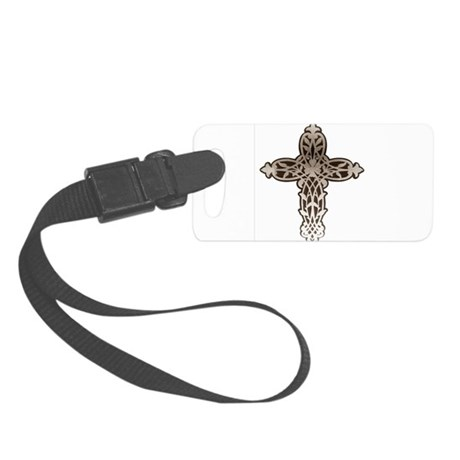 cross31.png Small Luggage Tag