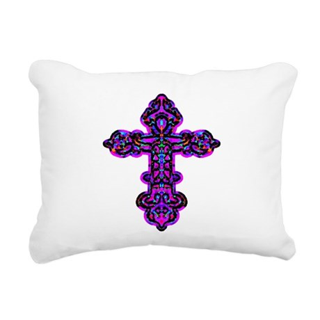 cross26e.png Rectangular Canvas Pillow