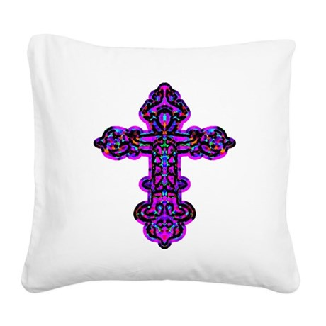 cross26e.png Square Canvas Pillow