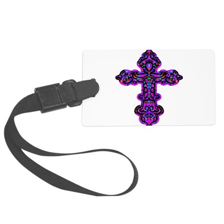 cross26e.png Large Luggage Tag