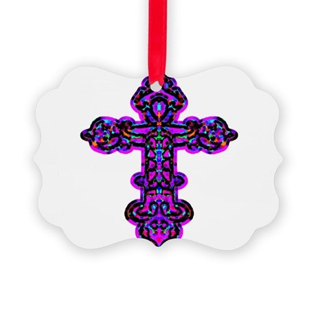 cross26e.png Picture Ornament