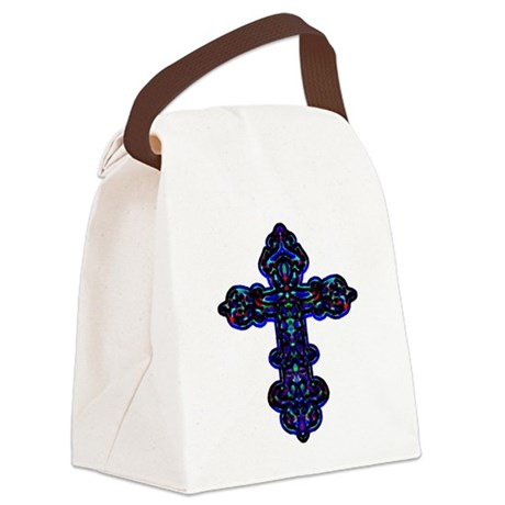 cross26c.png Canvas Lunch Bag