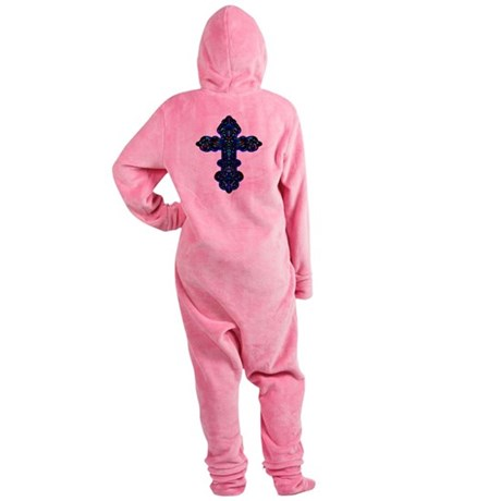 cross26c.png Footed Pajamas